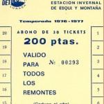 Ticket Lunada 200 pts